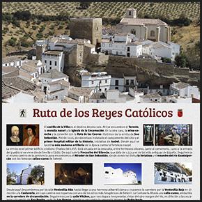Setenil inaugura la Ruta de los Reyes Católicos diseñada porImagina