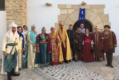 Inauguración de la Ruta de los Reyes Católicos, que comienza en la ermita de San Sebastián. Foto: ÁNGEL MEDINA