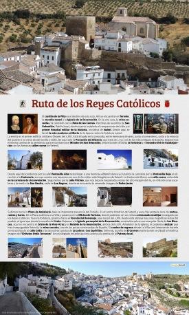 """La Ruta de los Reyes, un proyecto elaborado por """"Imagina Setenil"""" para el Ayuntamiento de Setenil."""