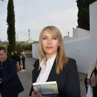 María Guzmán, autora del reportaje fotográfico, perteneciente al Grupo de Memoria Histórica de Setenil.