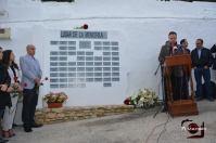 El periodista Rafael Fernández, presentador del homenaje.