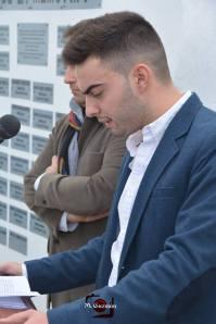 Ángel Medina Linares, autor de la recopilación de nombres homenajeados.