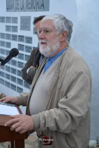 """El historiador José Luis Gutiérrez Molina, autor de """"La Justicia del Terror"""", quien explicó los procesos sumarios sin garantías con la que los golpistas quisieron aplicar su """"justicia al revés"""" para llevar a cabo una """"limpieza"""" políica y social."""