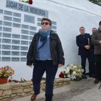 Mario Carmen Bermúdez Zamudio, que entregó al rosa de su abuelo Miguel Bermúdez García.