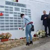 Isabel Guzmán, miembro del Grupo de Memoria Histórica de Setenil.
