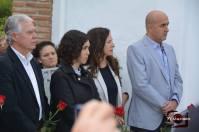 El senador Francisco Menacho, la diputada del Parlamento andaluz Noelia Ruiz, de Torre Alháquime, Reme Palma, delegada de Cultura, Turismo y Deporte de la Junta de Andalucia, y el alcalde de Setenil, Rafael Vargas Villalón.