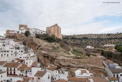 Vista del alcázar de Los Cortinales. Foto: ÁNGEL MEDINA