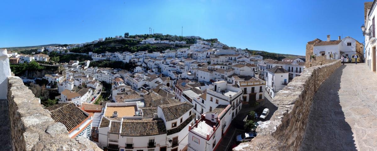 Maravillosa perspectiva del pueblo desde El Lizón. Foto. CINXXX