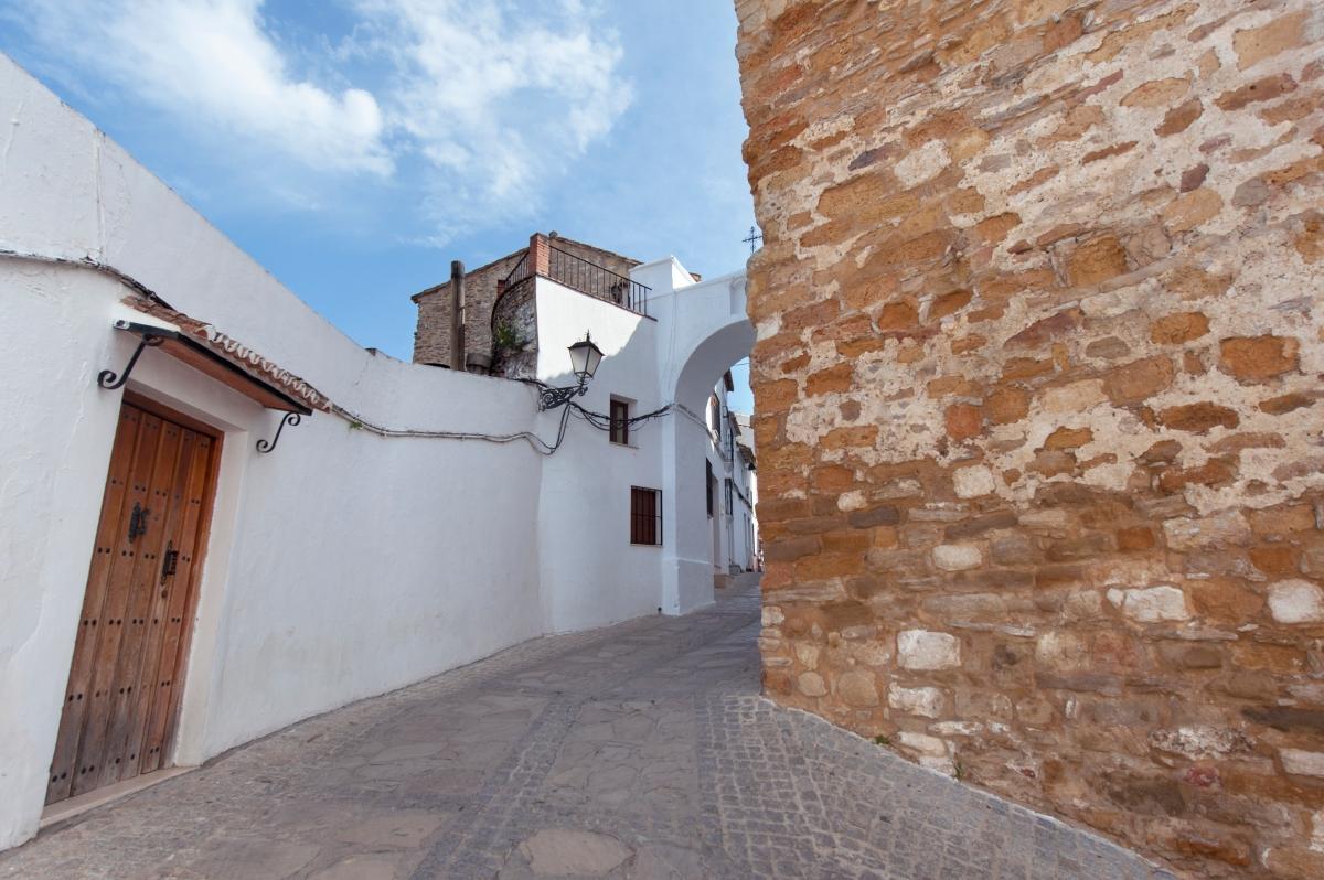 El arco de la Villa. Foto. DIPUTACIÓN DE CÁDIZ.