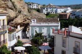 La Plaza de Andalucía, en los cimientos del Torreón, escondiendo la calle Herrería. Foto: CINXXX