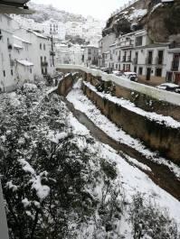 """Fotos de Las Cuevas nevadas publicada por """"La Casita""""."""