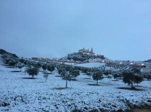 Olvera. Foto publicada por el twitter de la Junta de Andalucía.