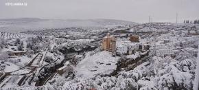 La mayor nevada que se recuerda enSetenil
