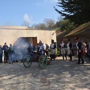 """No faltaron cañozanos y salvas para celebrar la presentación de """"El Garrochista"""". Foto: MARÍA GUZMÁN JIMÉNEZ."""