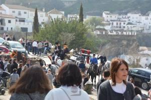 El público disfrutó de la presencia del espectacular carruaje de los Sánchez. Foto. MARÍA GUZMÁN JIMÉNEZ.