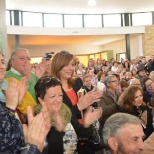 La sala del denominado CIMO estuvo más abarrotada durante la presentación del libro. Foto: MARÍA GUZMÁN JIMÉNEZ