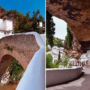 Setenil, donde el cielo es de roca: Guía de visita y paseo por suscalles-cueva