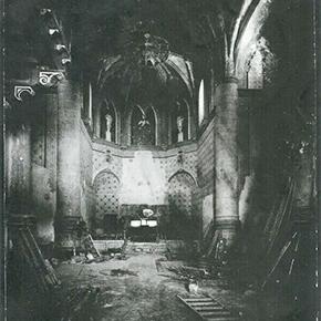 Una imagen histórica nunca vista de la destrucción de las iglesias deSetenil