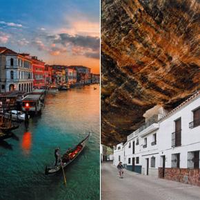 """AirAsia empareja a Setenil y Venecia en su selección mundial de """"lugares extraordinarios"""""""