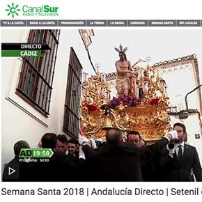"""""""Andalucía Directo"""" retransmite para toda Andalucía la salida del Amarrao deSetenil"""