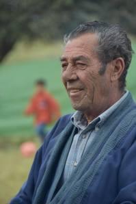 Paco Guzmán, padre de María.