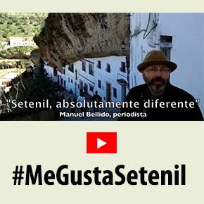 """Manuel Bellido, periodista: """"Setenil es absolutamente diferente, un pueblo que desafía lalógica"""""""