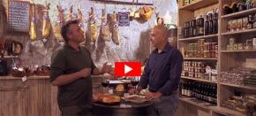 Un tapeo por las Cuevas de Setenil con el chef Roberto Capone yTVE