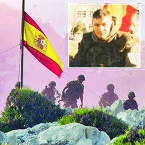 Antonio Lebrón, el valiente militar setenileño que desembarcó el primero enPerejil