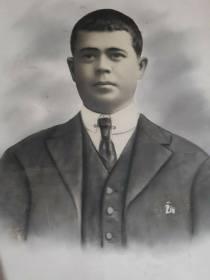 Pedro Andrades Anaya, concejal de Izquierda Republicana en Setenil. Padre de 'Tobalito'.