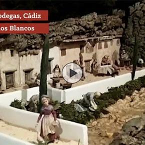 Rotundo éxito del original Belén de Los Blancos, que recrea las calles-cueva deSetenil