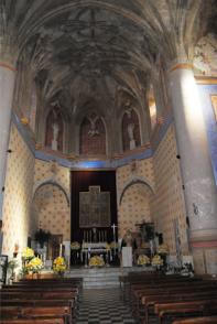 Imagen de la Iglesia de la Villa en el úkltimo tercio del siglo XX.