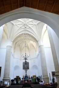 Imagen reciente de la Iglesia mayor de Setenil.