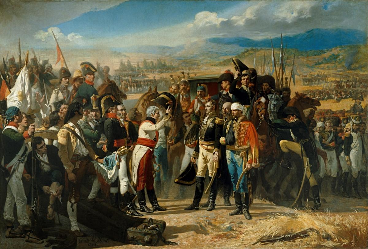 """""""La rendición de Bailén"""" (1.864), que se puede ver en el Museo del Prado, es una obra de Jose Casado del Alisal que inspiró la escritura de El Garrochista. Aquí tenéis más información https://bit.ly/2SOwy2V"""