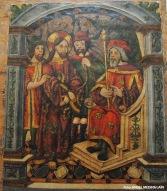 Detalle del retablo de La Anunciación. Iglesia de la Encarnación. Setenil. Foto: ÁNGEL MEDINA LAÍN
