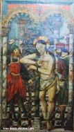 Escena del apresamiento de Jesús. Detalle del retablo de La Anunciación. Iglesia de la Encarnación. Setenil. Foto: ÁNGEL MEDINA LAÍN