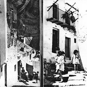 Las fotos del mítico Nicolás Muller en Setenil: una auténticajoya