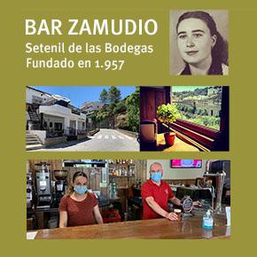 Zamudio, el histórico bar de Setenil que cautivó a Umbral y CurroJiménez