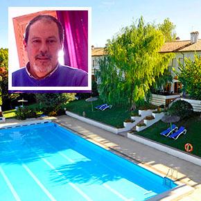 Hotel El Almendral, ambiente familiar y piscina en el privilegiado entorno natural deSetenil