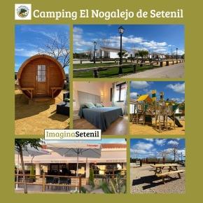 El Nogalejo de Setenil, un camping y restaurante de calidad para disfrutar de la Sierra de Cádiz yRonda