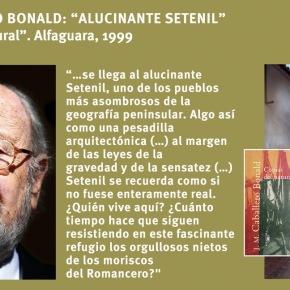 """El """"alucinante Setenil"""" de CaballeroBonald"""