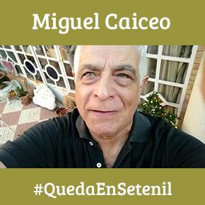 """Miguel Caiceo, enamorado de Setenil: """"Es un sitioúnico"""""""