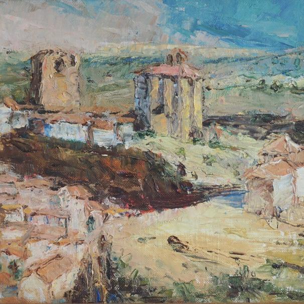 La fortaleza de Setenil, vista desde El Carmen.