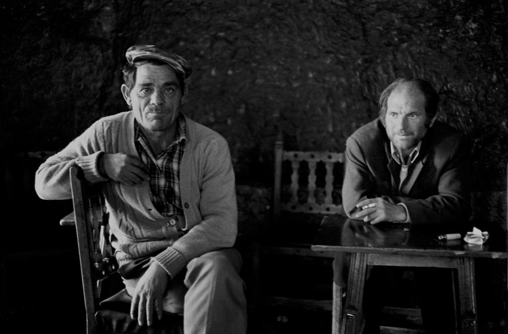 """Juan González """"El Rabizo"""" y Paco Palmero. Foto: JEAN PIERRE HAZÉE."""