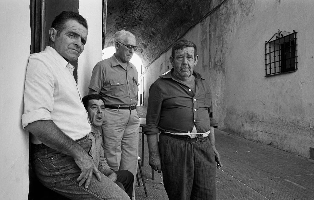En la imagen vemos a Antonio Marin, José Dominguez, José Porras y Francisco Navarro. Foto: JEAN PIERRE HAZÉE.