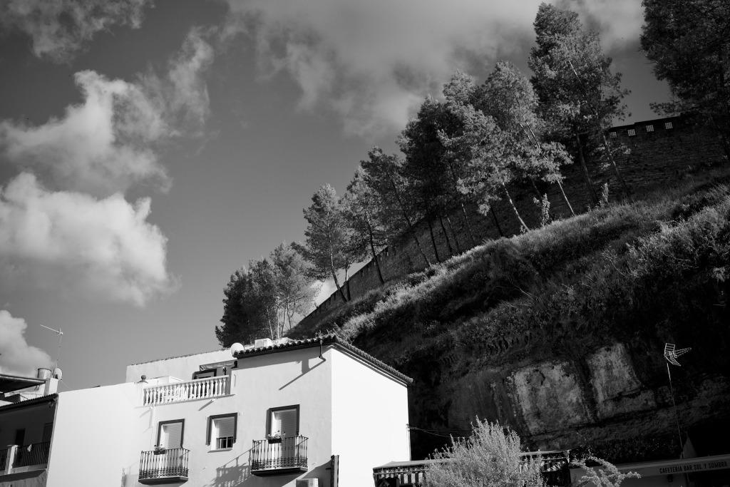 """El """"techo"""" natural de las Cuevas de la Sombra. Foto: JEAN PIERRE HAZÉE."""