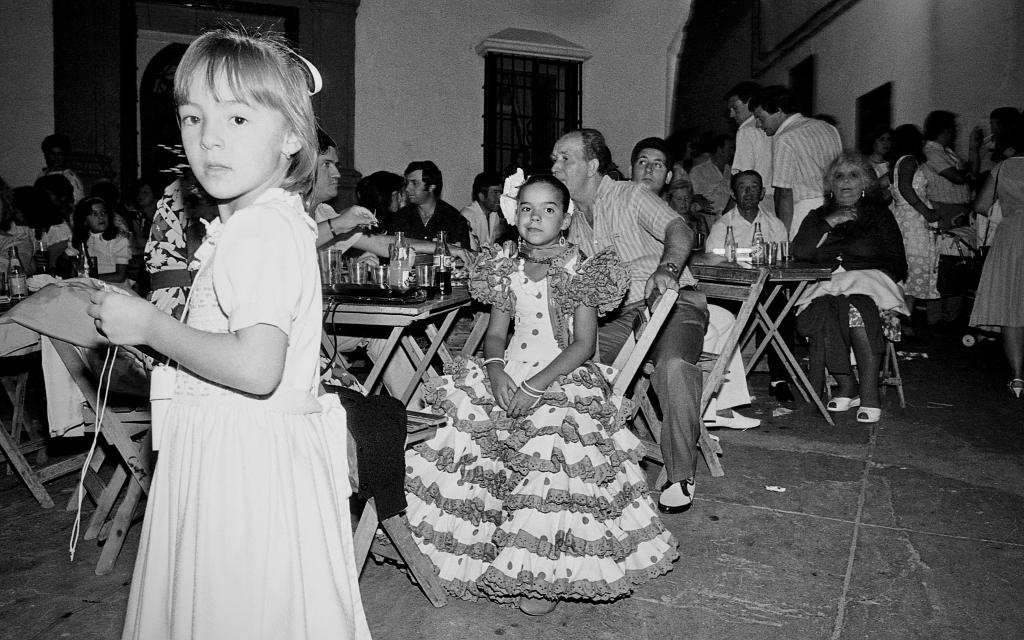La Feria en la Plaza era todo un acontecimiento al que nadie podía faltar. Foto: JEAN PIERRE HAZÉE.